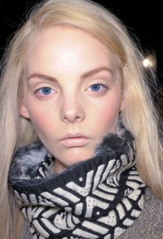 Timo Weiland Fall 2011 Backstage Beauty