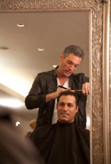 Nigel Barker Gets Pretty at the Ford Beauty Suite: A tFS Exclusive Video Interview
