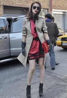 Accessories Heat up New York Fashion Week Street Style