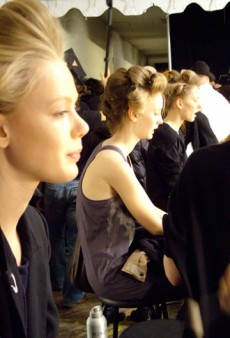 Diary of a Makeup Artist: Backstage at Marc by Marc Jacobs Fall 2011