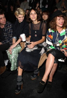 London Fashion Week: Front Row at Topshop, House of Holland, and More