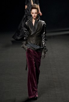 Haider Ackermann Fall 2011 Runway Review