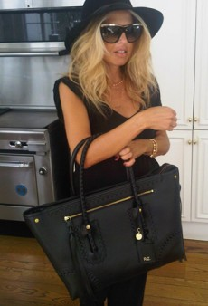 Rachel Zoe's McQueen Diaper Bag and Other Celeb Twitpics of the Week