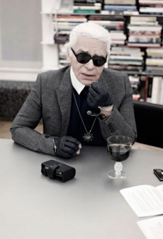 Karl Lagerfeld at Home for VIVA!; Anna Wintour Wears Jeans