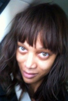 A Fresh-Faced Tyra Banks and Other Celebrity Twitpics of the Week