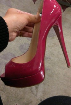 Rihanna's Amazing Louboutins and Other Celeb Twitpics of the Week