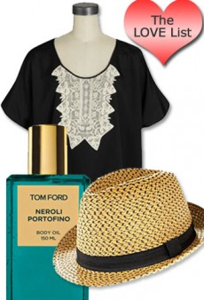 The Love List: Tom Ford, Missoni, and Havaianas