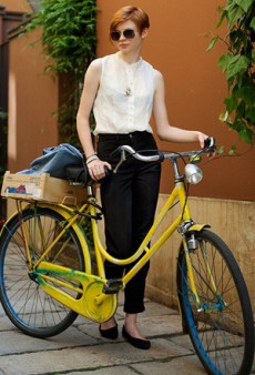 Street Style: Bicycle Riding in Style