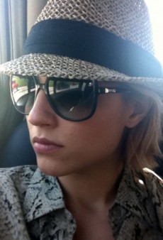 Dianna Agron is Carsick and Other Celeb Twitpics of the Week