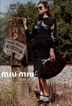 Hailee Steinfeld for Miu Miu Fall 2011 Ad Campaign