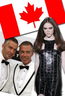 Happy Canada Day! A Look Back at the Fashion Industry's Most Influential Canadians
