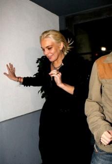 Lindsay Lohan Celebrates Sweet, Sweet Freedom