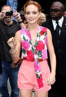 Get the Look: Jayma Mays' Feminine Florals