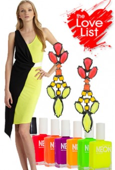 Neon Brights: The Love List
