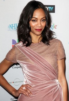 Get the Look with Pantene: Zoe Saldana