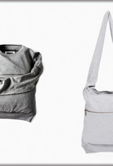 Martin Margiela Sweatshirt Bag, To Keep Your Stuff All Toasty and Warm