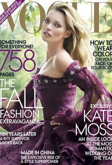 Kate Moss Covers Vogue's September Issue (Forum Buzz)