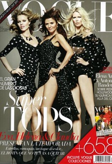 90s Supermodels Fail to Excite on Vogue Spain's September Issue (Forum Buzz)