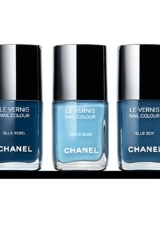 Chanel's True-Blue Nail Polishes for Fashion's Night Out