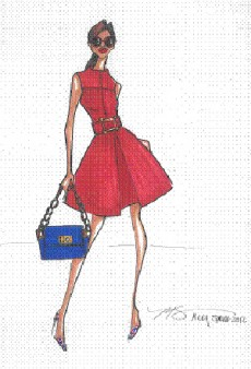 Spring 2012 Inspiration: NYFW Sneak Peek from Milly, Tracy Reese, and Rebecca Taylor