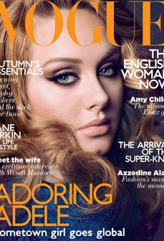 Adele's Vogue UK Close-Up (Forum Buzz)