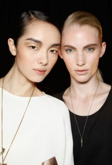 Derek Lam Spring 2012 Backstage Beauty