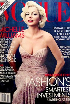 Michelle Williams as Marilyn Monroe Snags Vogue's October Cover (Forum Buzz)