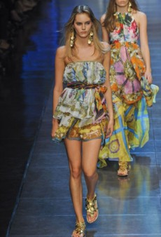 D&G Spring 2012 Runway Review