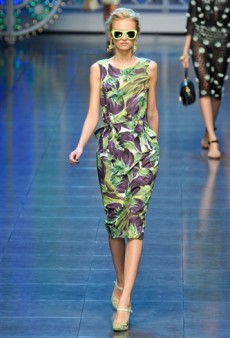 Dolce & Gabbana Spring 2012 Runway Review