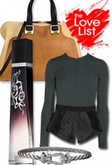 Fall Luxuries: The Love List