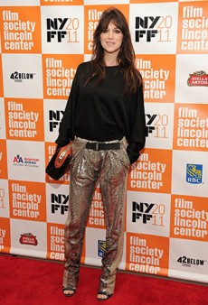 Charlotte Gainsbourg Dressed in Trusty Balenciaga for the New York Film Festival (Forum Buzz)