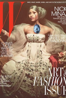 W Also Features Nicki Minaj for Their November Art Issue (Forum Buzz)