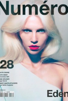 We Love Aline Weber on the Cover of Numéro (Forum Buzz)