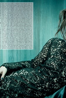 Kirsten Stewart Does Fashion for Vogue Italia