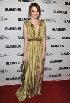 Emma Stone Was Lovely in Lanvin at the Glamour Women of the Year Awards (Forum Buzz)