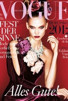 Karlie Kloss Covers Vogue Germany