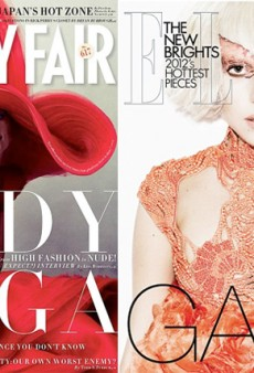 Lady Gaga Covers January's Vanity Fair, Also Elle UK