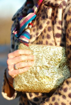 DIY: How to Make a Glam Glitter Clutch