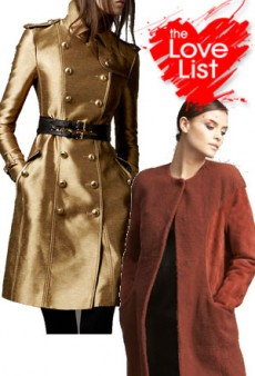 Keepsake Coats: The Love List