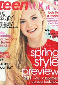 Elle Fanning Covers Teen Vogue (Forum Buzz)
