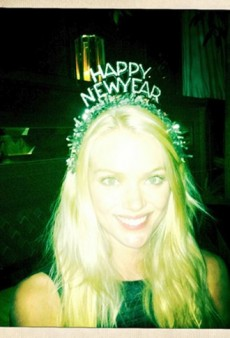 Lindsay Ellingson, Chrissy Teigen, Snooki and Other Celebs Ring in the New Year