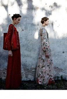 Valentino Pulls Off a Lovely Multi-Model Spring Campaign (Forum Buzz)