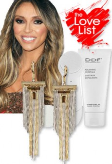 Giuliana Rancic: The Love List