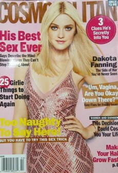 Link Buzz: Dakota Fanning for Cosmo & Demi Moore As Gloria Steinem