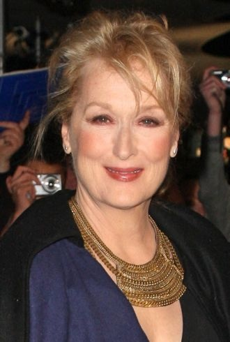 Meryl Streep The European premiere of The Iron Lady London cropped