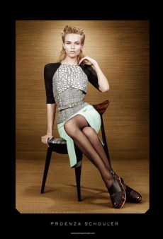 Natasha Poly Stars in Proenza Schouler's Spring 2012 Ad Campaign (Forum Buzz)