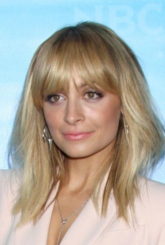 Nicole Richie NBC Universal Winter Tour party Los Angeles cropped