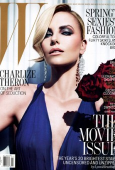 Charlize Theron is W's Second Cover Model for February 2012 (Forum Buzz)
