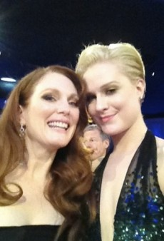Gals Pals at the Golden Globes and Other Celeb Twitpics of the Week