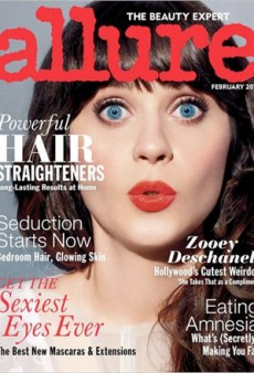 Zooey Deschanel Looks Weird on the Cover of Allure